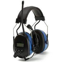 Hørselsbeskyttelse med Bluetooth og radio