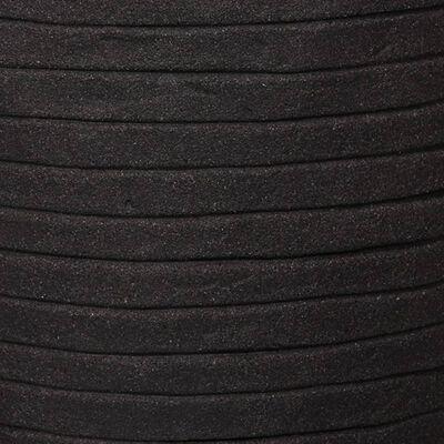 Capi krukke Nature Row kugleformet 62 x 48 cm sort KBLRO271