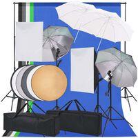 vidaXL belysningsudstyr til fotostudie