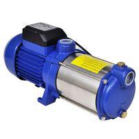 Vandpumpe, 1300 W, 5.100 l/t, blå