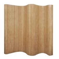 vidaXL rumdeler 250x165 cm bambus naturfarvet