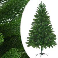 vidaXL kunstigt juletræ 180 cm grøn