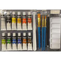 Duga Malingsæt Akryl 12 Farver