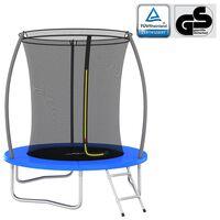 vidaXL trampolinsæt rund 183x52 cm 80 kg