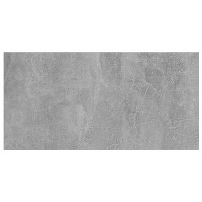 vidaXL boghylder 4 stk. 80x30x1,5 cm spånplader betongrå