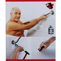 RIDDER tilbehørslim til badeværelset Fix & Clean A2000000