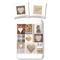Good Morning sengetøj NATURE 135 x 200 cm flannel