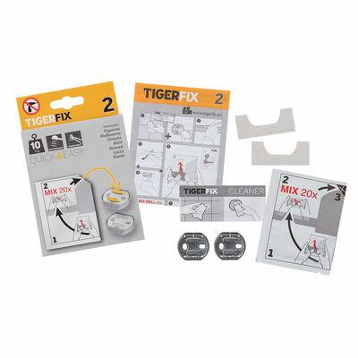 Tiger monteringsmateriale TigerFix Type 2 metal 398830046