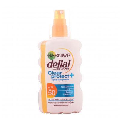 Delial - DELIAL CLEAR PROTECT spray transparente SPF50+ 200 ml