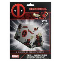 Deadpool - 29x Klistermærker