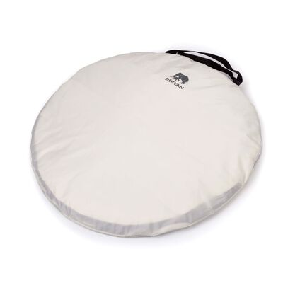 DERYAN pop op-sengetelt med myggenet 200 x 90 x 110 cm cremefarvet