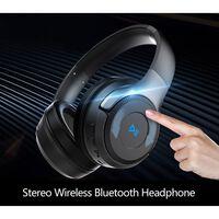 Høretelefoner med øretelefon med Bluetooth + 3,5 mm kabel