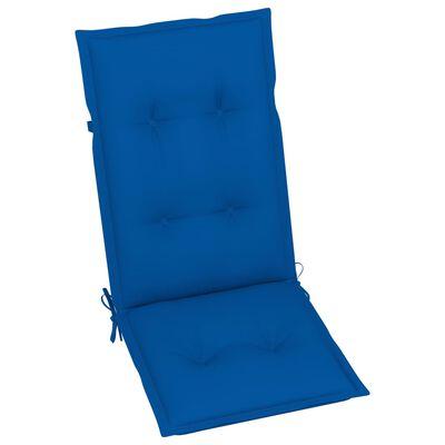 vidaXL lænestole til haven 3 stk. med hynder massivt akacietræ