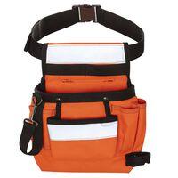 Toolpack værktøjsbælte høj synlighed enkelt lomme Sash orange og sort