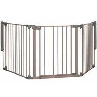 Safety 1st sikkerhedslåge Modular 3 3 paneler grå 82-214 cm 24226580