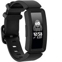 Fitbit Ace 2 / Inspire / Inspire Hr Silikone Armbånd Sort