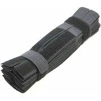 Velcro-rem -50-pakke Sort