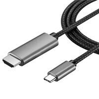USB-C til HDMI kabel 4K - 2 meter