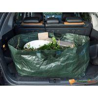 Nature affaldssæk til haven rektangulær 225 l grøn