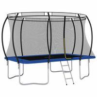 vidaXL trampolinsæt rektangulær 335x244x90 cm 150 kg