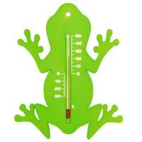 Nature udendørs vægtermometer frøfacon grøn