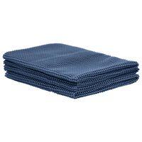vidaXL telttæppe 250x500 cm blå