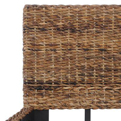 vidaXL sengestel 140 x 200 cm naturlig rattan