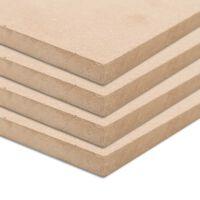 vidaXL MDF-plader 4 stk. firkantet 60 x 60 cm 25 mm