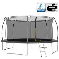 vidaXL trampolinsæt 460x80 cm 150 kg rund