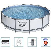 Bestway Steel Pro MAX swimmingpoolsæt 427x107 cm