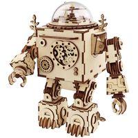 Robotime DIY-spilledåse Steampunk Orpheus