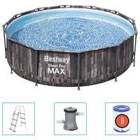 Bestway Steel Pro MAX swimmingpoolsæt 366x100 cm