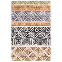 vidaXL gulvtæppe med tryk 160 x 230 cm polyester flerfarvet