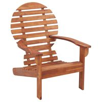 vidaXL Adirondack-stol massivt akacietræ