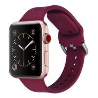 Apple Watch armbånd 38 mm - burgunder
