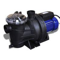 vidaXL poolpumpe elektrisk 1200 W blå
