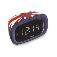Nikkei clockradio NR200UK Union Jack-design