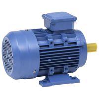 vidaXL 3-faset elektrisk motor 1,5 kW/2 hk 2-polet 2840 o/m aluminium