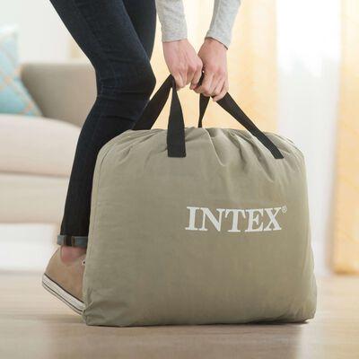 Intex Queen Deluxe Pillow Rest hævet luftmadras DURA-BEAM PLUS SERIES