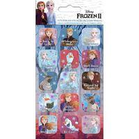 Frozen 2 / Frost 2, 15x Klistermærker