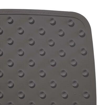RIDDER skridsikker bademåtte Capri 72 x 38 cm cementgrå