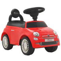vidaXL legetøjsbil Fiat 500 rød
