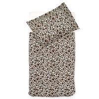 Jollein sengetøj med pudebetræk Leopard 100 x 140 cm brun
