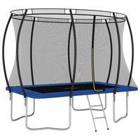 vidaXL trampolinsæt rektangulær 274x183x76 cm 150 kg