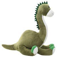 vidaXL dinosaur brontosaurus tøjdyr plys grøn