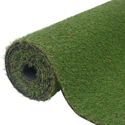vidaXL kunstgræs 1x10 m/20-25 mm grøn