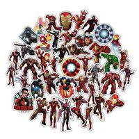 50x Klistermærker, Iron Man