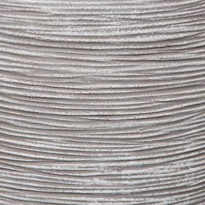 Capi krukke Nature Rib kugleformet 40 x 32 cm elfenbensfarvet KOFI270
