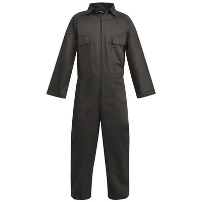 vidaXL overalls til mænd str. XL grå