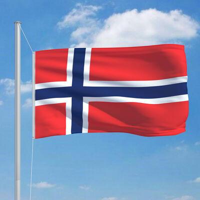 vidaXL norsk flag 90x150 cm